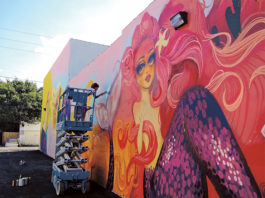 Venice-Magazine-Winter-2014-Issue-Wall-Art-Michaela-Greer-Jill-Weisberg-Project-Manager-Hollywod-Florida-Young-Circle-Wynwood