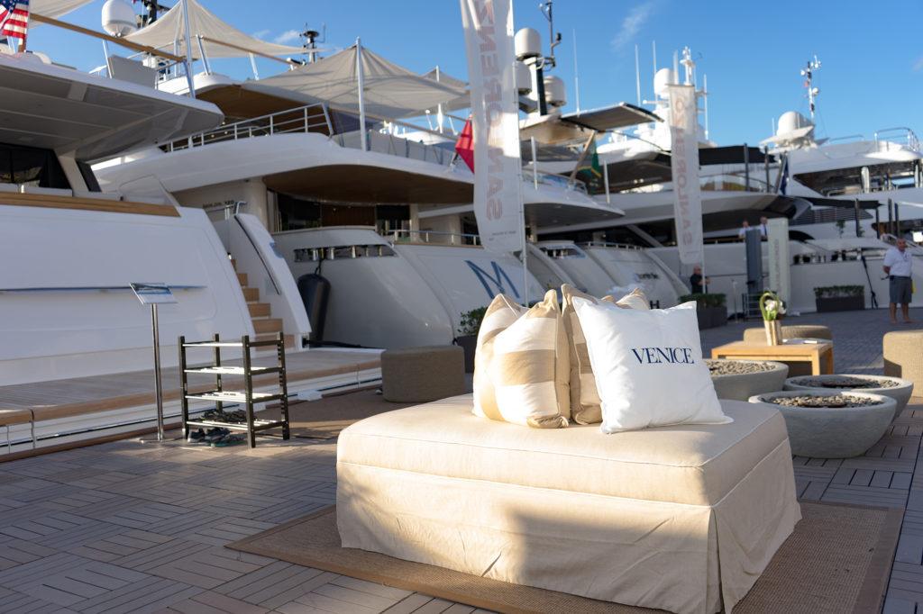 Venice-magazine-peroni-fort-lauderdale-international-boat-show-2017-sanlorenzo-yachts-lounge-bowmore-one-sothebys