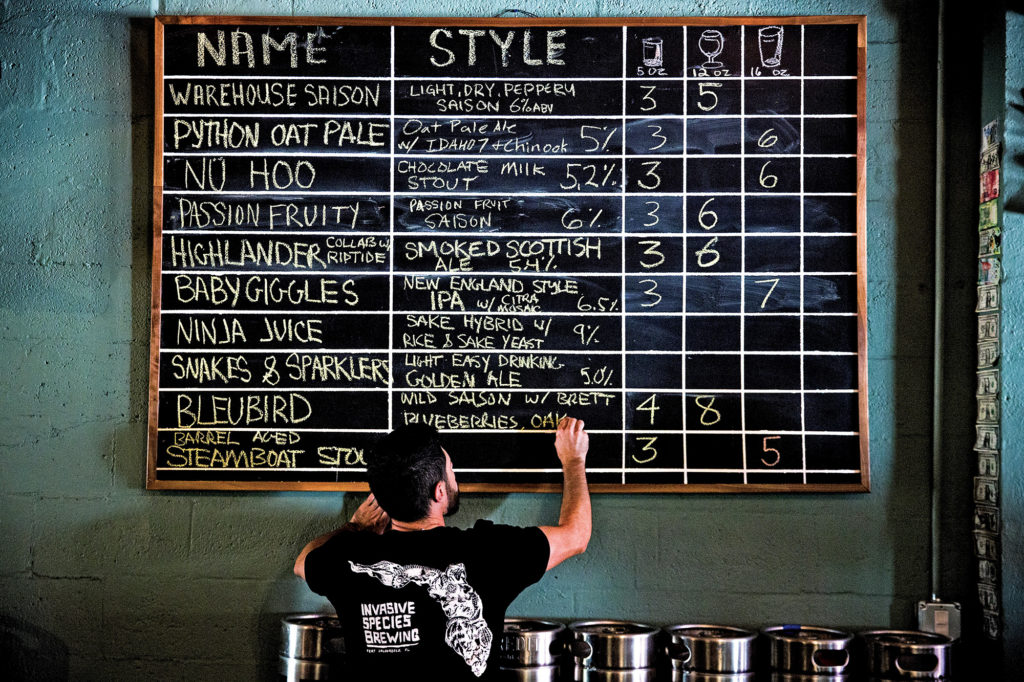 Invasive-species-brewing-charlie-crespo-phil-gillis-josh-levitt-venice-magazine-Scott-mcintyre-fort-lauderdale-beer-daily-board