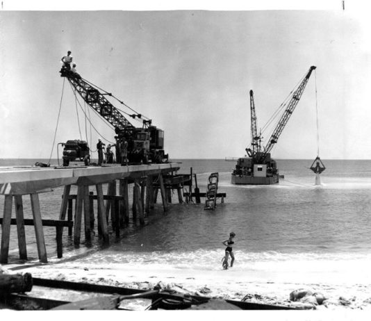 Pompano-Pier-1963-venice-fort-lauderdale-spring-2019-in-retrospect-larry-schwingel
