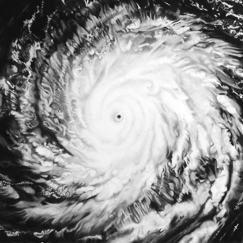 Virginia-Fifield-Charcoal-Drawings-Contemplation-Series-Hurricane-2015-Dania-Beach-Tom-Austin-Kara-Starzyk-Venice-Magazine