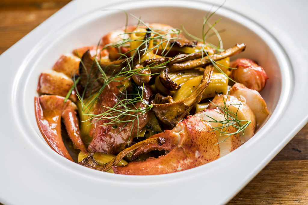 Chef-joel-ehrlich-valentino-one-door-east-felipe-cuevas-clarissa-buch-venice-magazine-fort-lauderdale-lobster-rigatoni