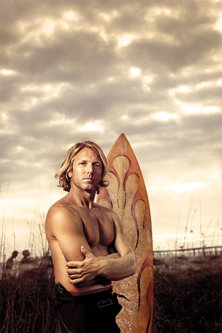 Boardwalk Empire After relocating from Australia to Fort Lauderdale, Kane Barrie has continued designing surfboards for his company, Nightmare Shapes.