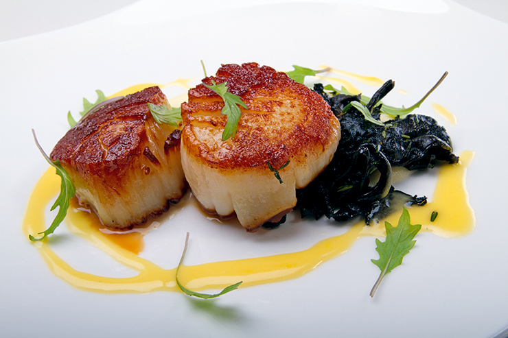 Summer Scallops Recipe — Dishmaps