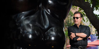 Venice-Magazine-Summer-2015-Issue-Fernando-Botero-Sculpture-Reed-V.-Horth-Felipe-Cuevas-Juan-Carlos-Botero-Male-Torso-20th-Century-Latin-American-Artists