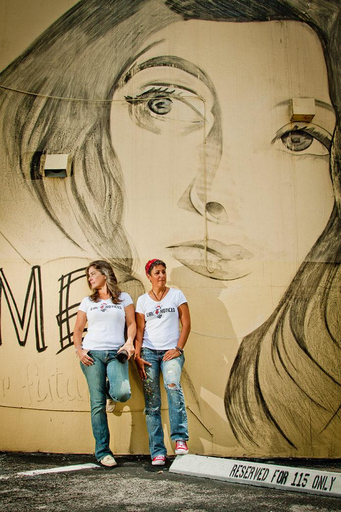 Venice-Magazine-Summer-2015-Taking-Notice-Lori-Pratico-and-Elizabeth-Sanjuan-Girl-Notice-by-Christiana-Lilly-Portrait-by-Eduardo-Schnieder-Fort-Lauderdale