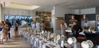 Venice-Magazine-summer-issue-The-Seen-Auberge-Beauty-Darryl-Nobles-room-set-up