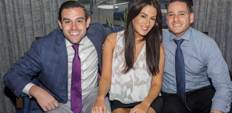 Garrett-Laughlin-Lauren-Disesa-Goldstein-Jaime-Goldstein-Lobster-Bar-Sea-Grille-Fort-Lauderdale-Venice-Magazine