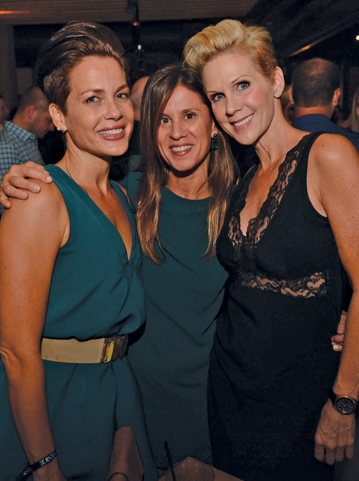 kristin-lovejoy-andrea-scarborough-and-paige-held-City-Cool-Boat-Yard-Fort-Lauderdale-Venice-Magazine
