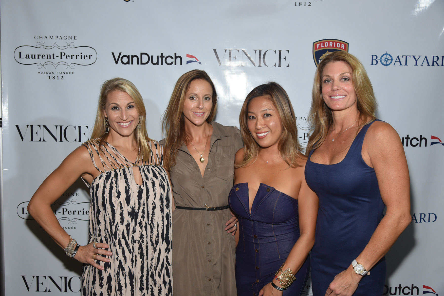 lisa-anderson-nicole-austin-jennifer-leong-jenny-meathelauren-and-brady-cobb-City-Cool-Boat-Yard-Fort-Lauderdale-Venice-Magazine