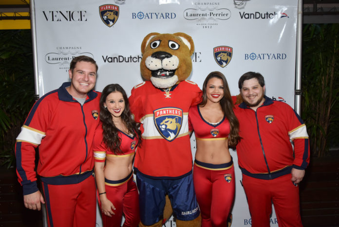 stanley-c-panther-with-florida-panthers-roar-corps-City-Cool-Boat-Yard-Fort-Lauderdale-Venice-Magazine