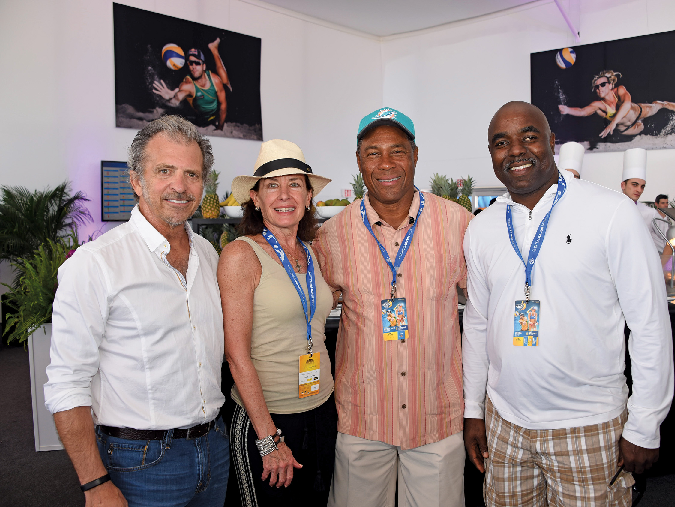 Commissioner-Bob-McKinzie-Michele-Eve-Sandberg-The-Seen-Swatch-Major-Series-Beach-Volleyball-FIVB-Olympians-Venice-Magazine-Fort-Lauderdale-Beach