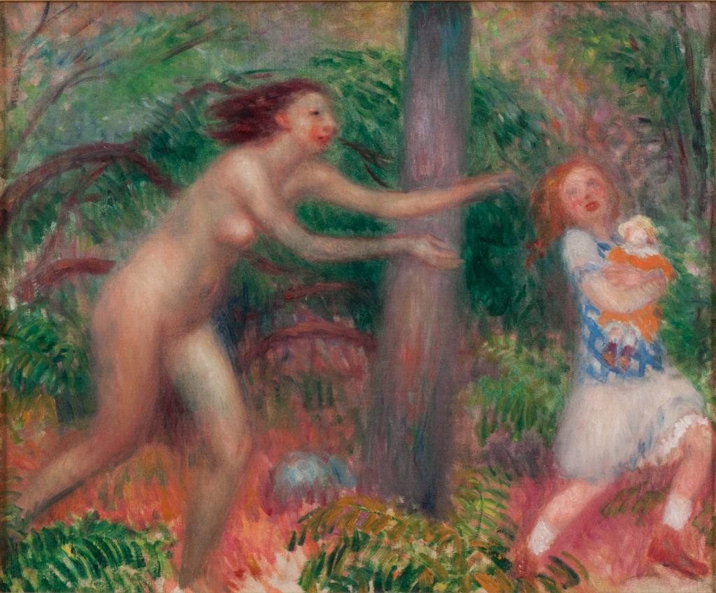 William-J-Blackens-Untitled-Nymph-Series-NSU-art-museum-Nina-Tsiotsias