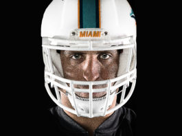 Anthony-Fasano-Miami-Dolphins-venice-magazine-tight-end-jon-warech-eduardo-schneider-next-chapter-rehab-football-helmet
