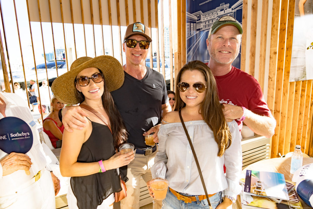 Christina-pineiro-lee-garipoli-erin-clampett-mike-bondurant-Venice-magazine-peroni-fort-lauderdale-international-boat-show-2017-sanlorenzo-yachts-lounge-one-sothebys-mionetto