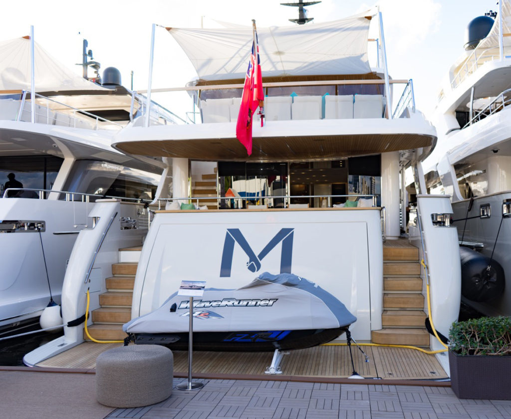 Venice-magazine-peroni-fort-lauderdale-international-boat-show-2017-sanlorenzo-yachts-wave-runner