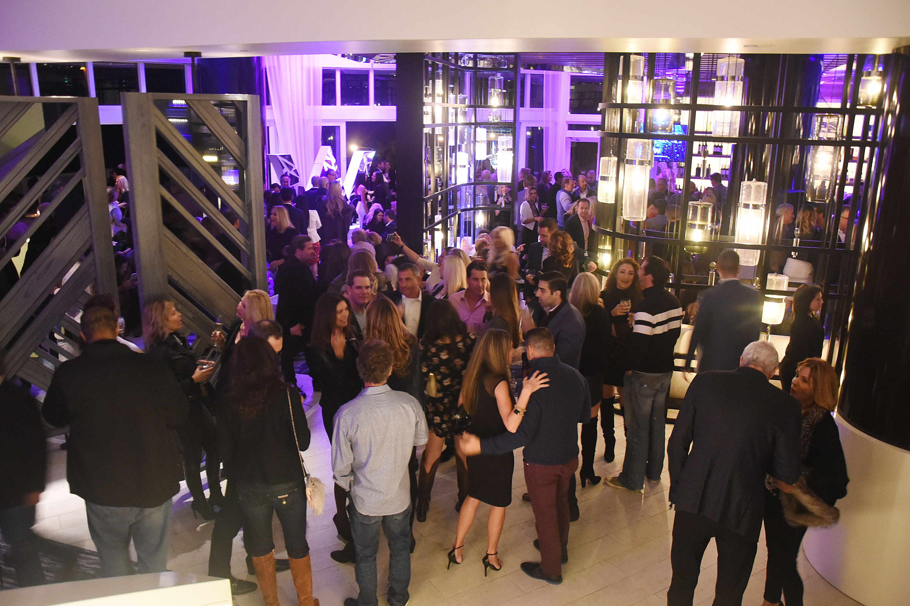 Winter Chic Winter Issue Cover Party At The W Fort Lauderdale