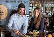 Shake-it-ip-Padrinos-cuban-cuisine-woodford-reserve-spicy-mango-mojito-laura-padrino-corredoira-eduardo-padrino-bourbon-bites