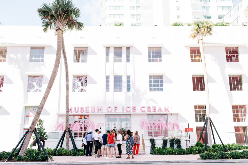 MOIC-Miami-museum-of-ice-cream-exterior-art-deco-maryellis-bunn-cones-design-fort-lauderdale-venice-magazine-spring-2018-issue-carlos-suarez-nila-do-simon