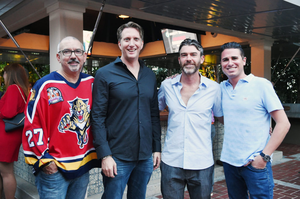Carlos-Suarez-Marc-Silverstein-Chris-Ferrone-Brian-Freed-venice-magazine-florida-panthers-cats-launch-boatyard