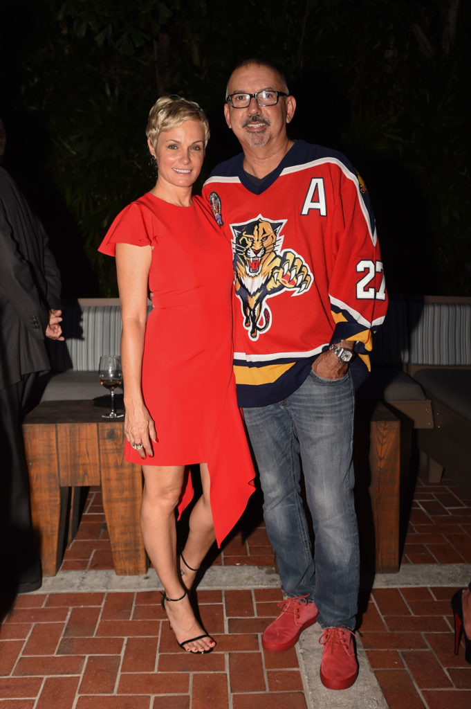 Lori-Carlos-Suarez-venice-magazine-florida-panthers-cats-launch-boatyard