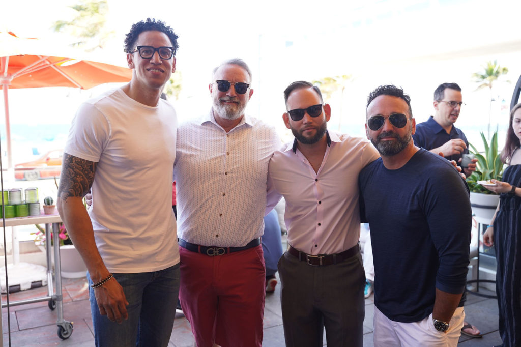 Konrad-Brown-Jeffrey-Dwyer-Tommy-Fred-Teddy-Morse-lona-venice-fort-lauderdale-cover-party-beach