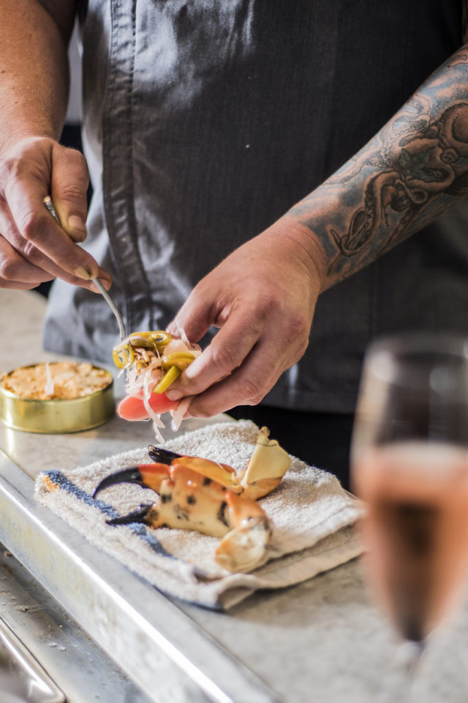 Even-Keel-chef-dean-james-max-snow-crab-venice-fort-lauderdale-magazine-spring-2019