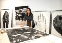 Virginia-Fifield-Charcoal-Drawings-Dania-Beach-Studio-Tom-Austin-Kara-Starzyk-Venice-Magazine