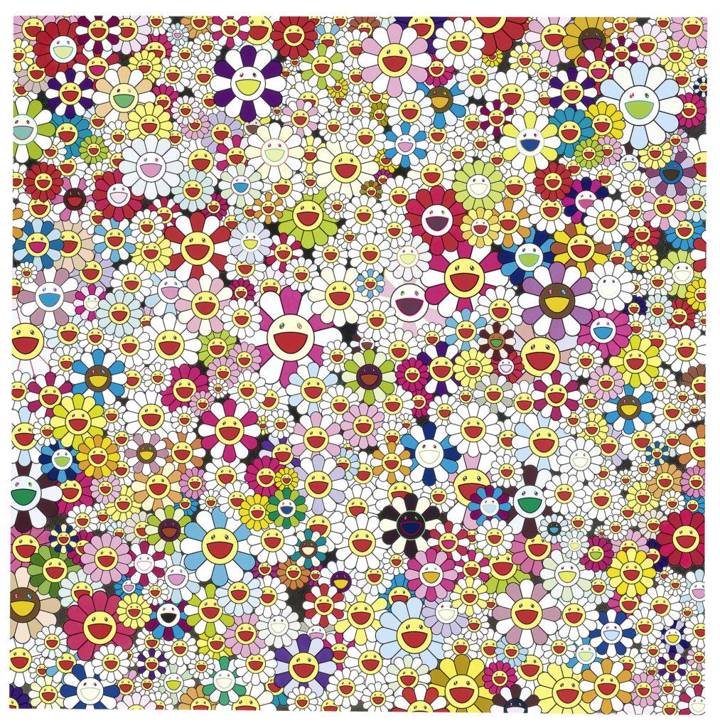 NSU-art-museum-happy-exhibition-venice-magazine-fort-lauderdale-elyssa-goodman-Takashi-Murakami-happiness