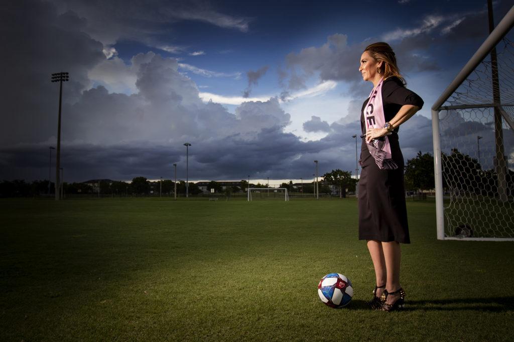 Stephanie-Toothaker-eduardo-schneider-elyssa-goodman-venice-magazine-lockhart-stadium-miami-CF-David-beckham-soccer