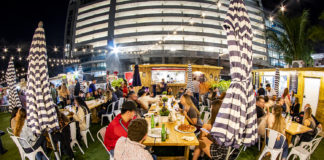 Millennial-restaurateurs-Hou-Mei-venice-magazine-alex-kuk-diego-ng-the-wharf-fort-lauderdale-crowd