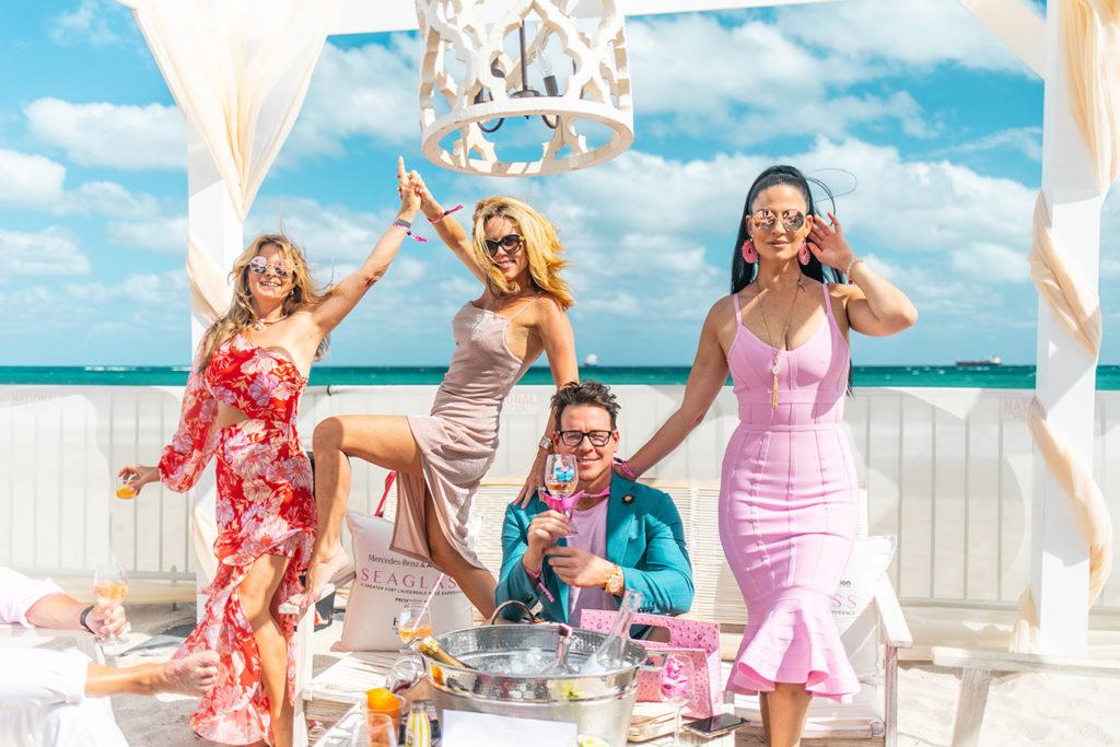 Seaglass-rose-experience-fort-lauderdale-beach-joel-eriksson-auto-nation-mercedes-benz-Tiia-Weckstrom-Tracy-Wenzel-Scott-Gerhardt-Yamit-Tal