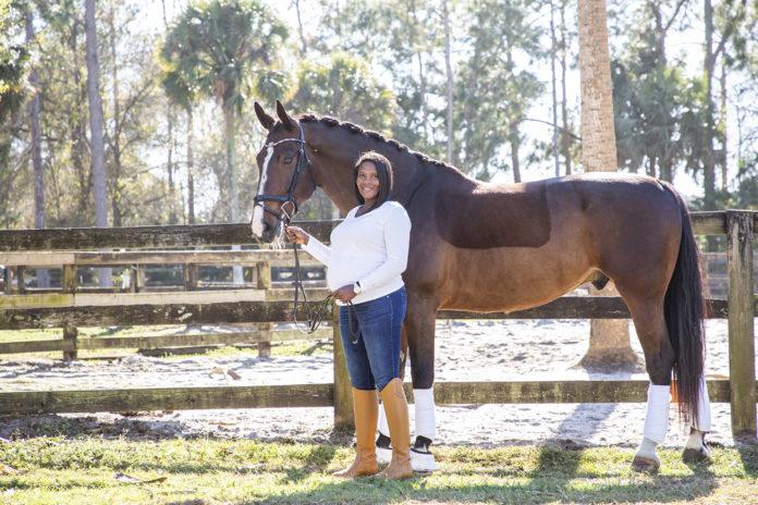 Philesha-Chandler-leslie-gray-streeter-jason-nuttle-venice-magazine-black-equestrian